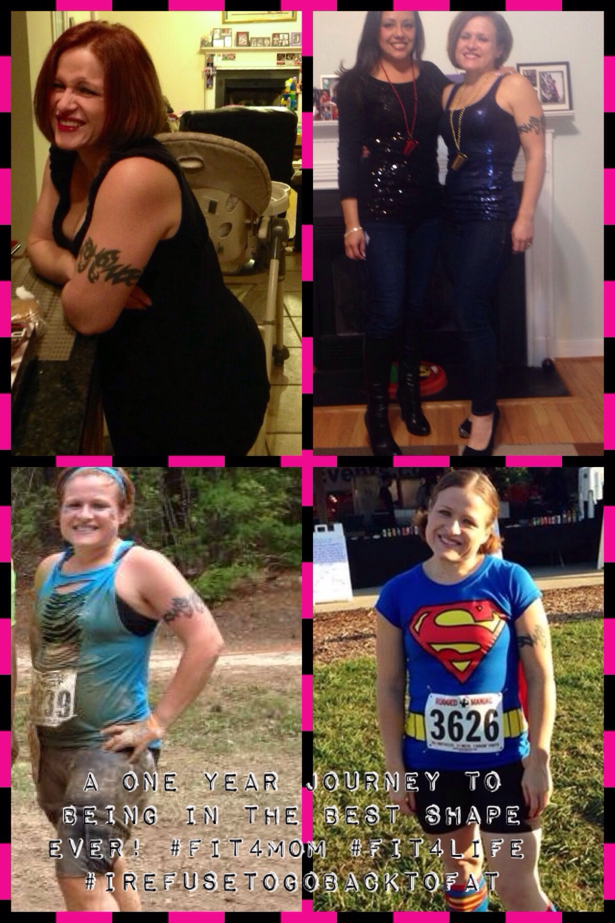 My one year journey tofitness